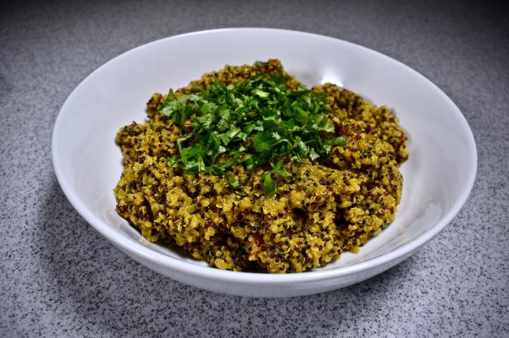 Miahjay's At Home: Vegan CurryQuinoa